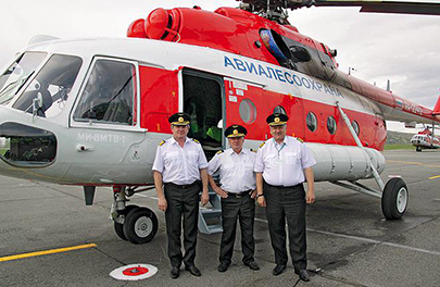 New Wildfire Patrol Helicopter for Russian Region