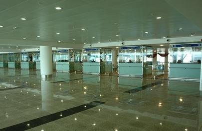 The area of the existing terminal at Tbilisi measures 25,000 sq. m.