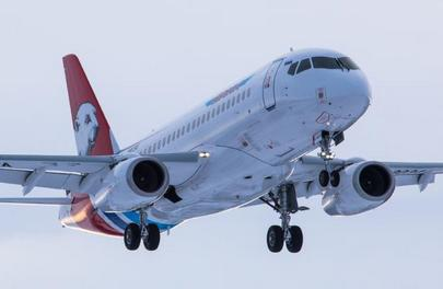 Yamal's new aircraft is the extended-range of the SSJ 100