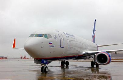 Aeroflot's traffic is growing on both domestic and international routes