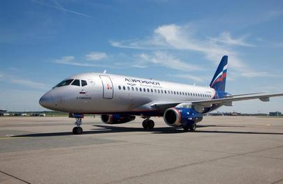 The two new aircraft are the 28th and 29th SSJ 100s in Aeroflot's fleet