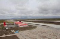 The runway, which has been closed since 1978, is now 3,400 m long and 60 m wide