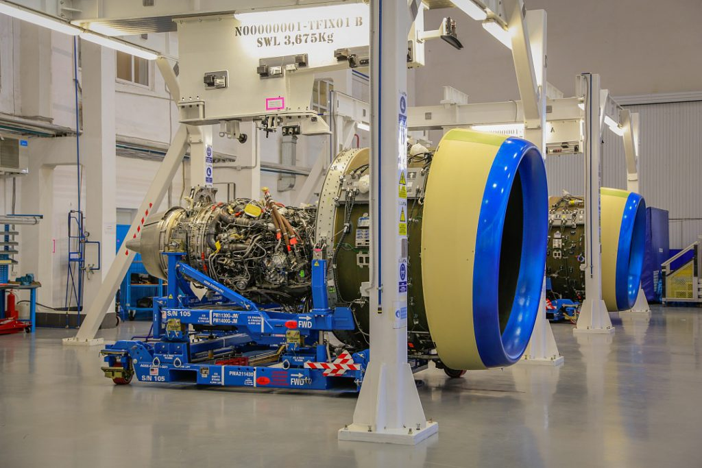 PW1400 engines for MC-21