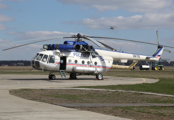 mi-8 mil helicopter