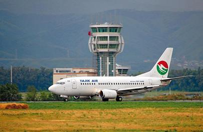 Tajik Air operates a handful of Boeing airliners
