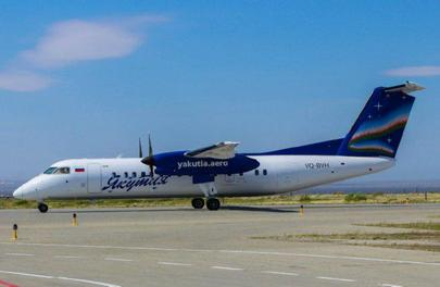 Unlike the first two Q300s in Yakutia's fleet, the third one is modified for extended range operations