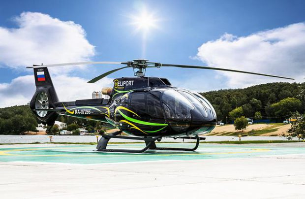 The company owns a network of helipads and operates a Robinson R66 and an Airbus Helicopters H130