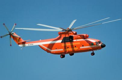 Mi-26 will be operated in the interests of Shandong forestry management