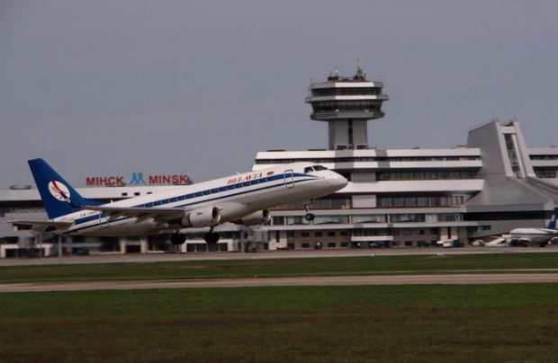 Minsk airport in the capital of Belarus still demonstrates double-digit growth