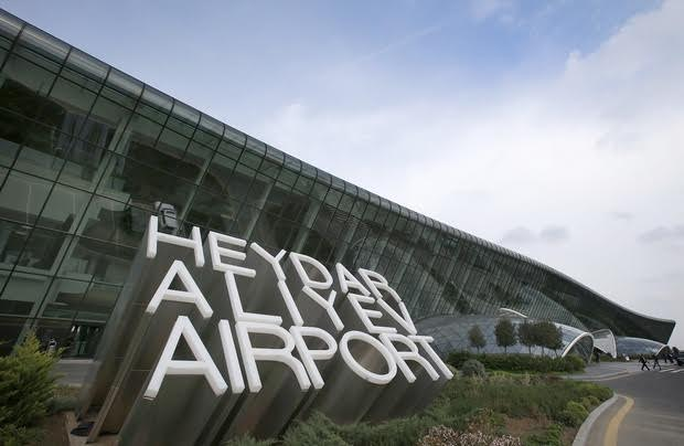 The new terminal at Heydar Aliyev Airport in Baku opened in 2014