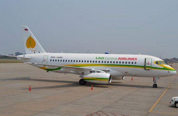 SCAC reclaimed its Sukhoi Superjet 100 (SSJ 100) regional aircraft from Laos after its operator, Lao Central, went out of business