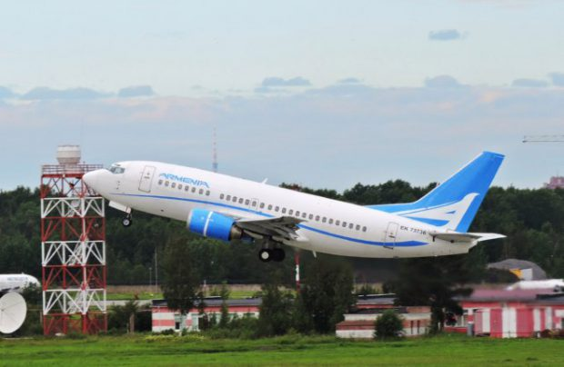 Armenia Airlines replaces Air Armenia, which left the market in October 2014