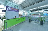 At the end of the first six months of 2016 the number of transit passengers traveling through Kyiv's main airport doubled