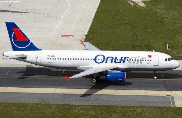 Onur Air resumes operation to Moscow