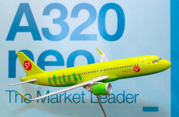 The E-Jets may become S7's second largest order after the order for three A320neos signed in April