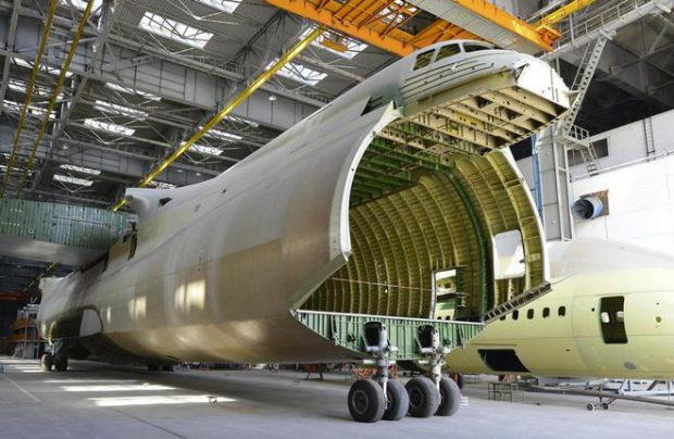The second An-225 is about 70% into final assembly