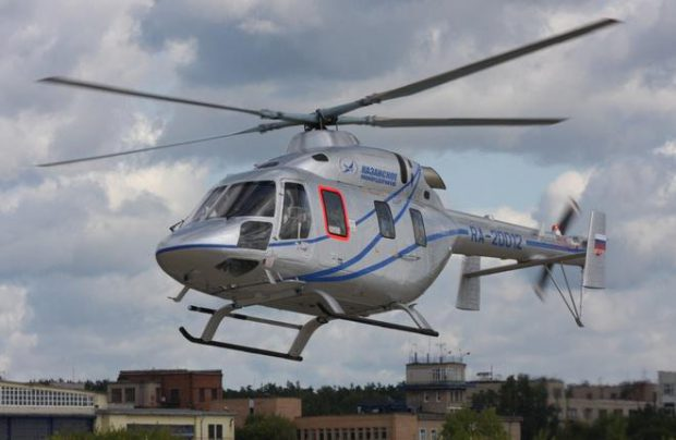 The Russian Helicopter Systems will become the first Russian independent commercial operator of the Ansat helicopter