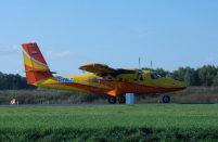 Five out of seven DHC-6s imported by AeroGeo to Russia have the Rosneft corporate livery