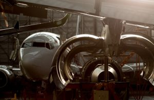 The weak ruble will motivate Russian MRO providers to localize more maintenance services (Photo by Leonid Faerberg / Transport-Photo.com)