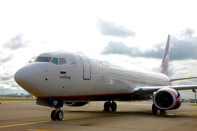 Boeing 737-800 (VP-BGN) joined Aeroflot's fleet in September (Photo by Aeroflot)