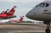 NordWind fleet includes three Boeing 777-200ER, one Boeing 767-300ER, four single-aisle Airbus A321 and two Boeing 737-800
