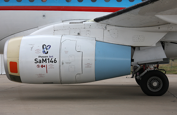 Sukhoi Civil Aircraft will get more than 70 SaM146 engines for ssj100 next year
