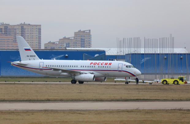 Rossiya Squadron received two Superjet 100 in VIP configuration