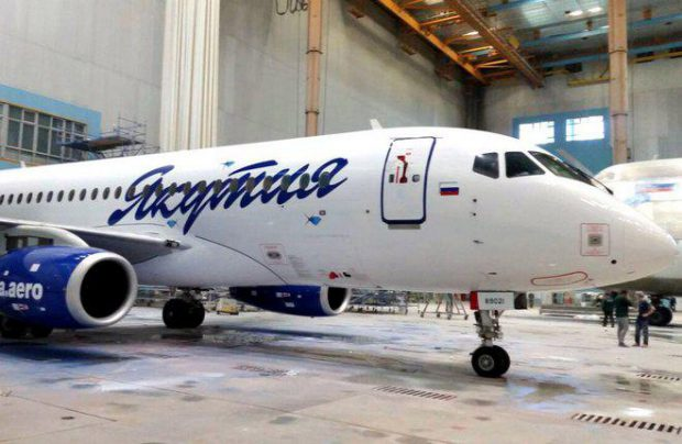 Yakutia currenly operates three SSJ100, all in basic variant (Photo by Yakutia)