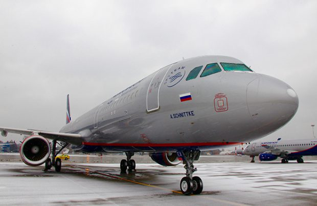 Aeroflot has taken delivery of its new A321 aircraft