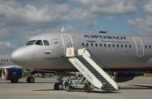 At the end of three quarters Russia's major airline saw its revenue increase six times