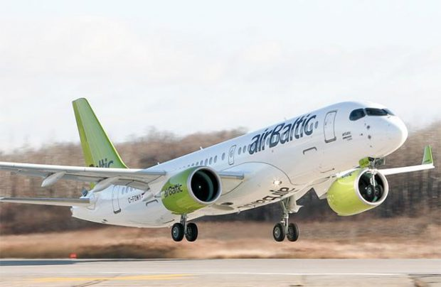 CS300's maiden commercial flight from Riga to Amsterdam is scheduled for December 14