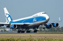 AirBridgeCargo currently operates seven Boeing 747-400Fs