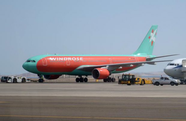 There's no information as to whether WindRose's A330 will be painted into UIA's livery