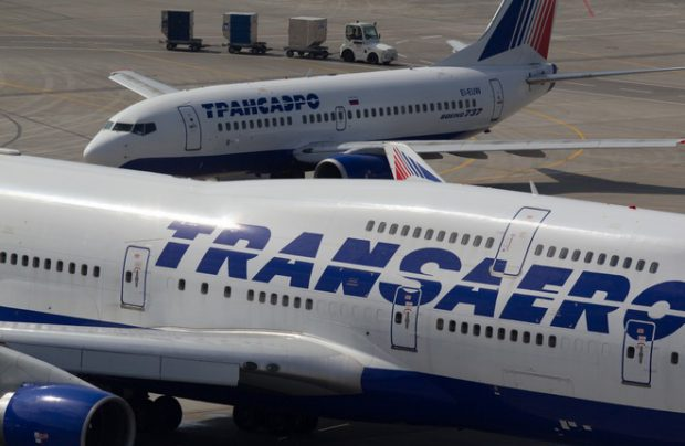 Russian leasing companies finds ways to re-market the fleet of the collapsed Transaero Airlines
