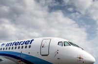 Interjet currently operates 22 SSJ 100s and has eight more on order