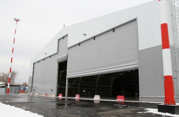 The new hangar at Koltsovo has enough space to fit four business jets