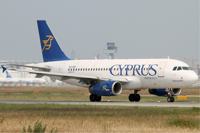 Old Cyprus Airway Airbus A319