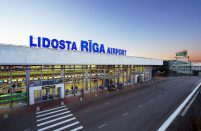 Transit flights make up 27% of Riga's total passenger traffic