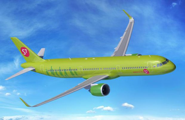 S7 Airlines has placed a firm order for three Airbus A321neos (pictured) and a commitment for two A320neos