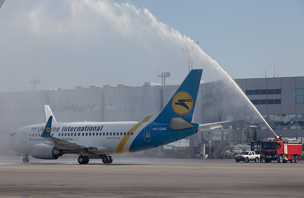 Ukraine International Airlines carried 77% of all the country's passenger traffic in 2015
