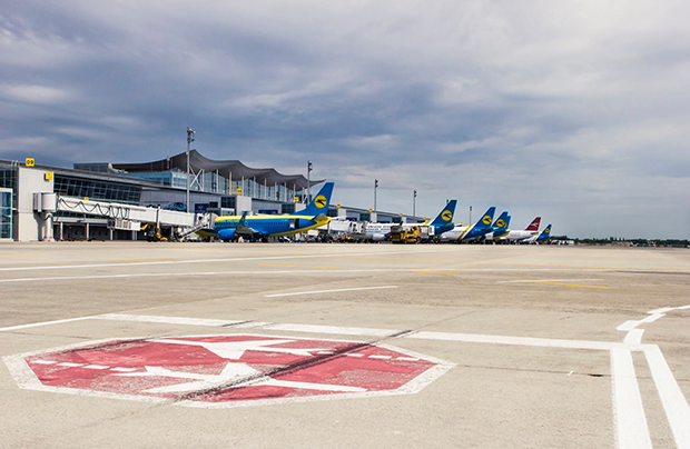 Since 2013, the Ukrainian airports have lost a third of passenger traffic to crisis-related shifts in the air transport market
