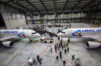 Ural Airlines has established its own technical center, adapted to perform A320 heavy maintenance
