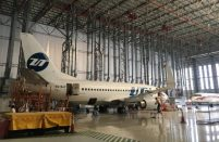 Volga-Dnepr Gulf has already started work on the first of the Boeing 737s operated by UTair