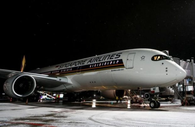 The first of Singapore Airlines's Airbus A350s arrived in Moscow on December 15