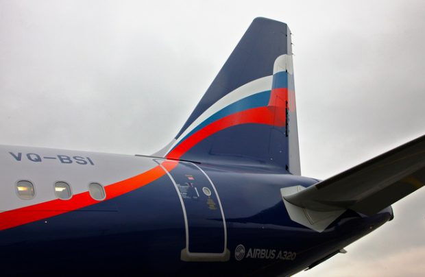 A320 is the most popular type in Aeroflot's fleet