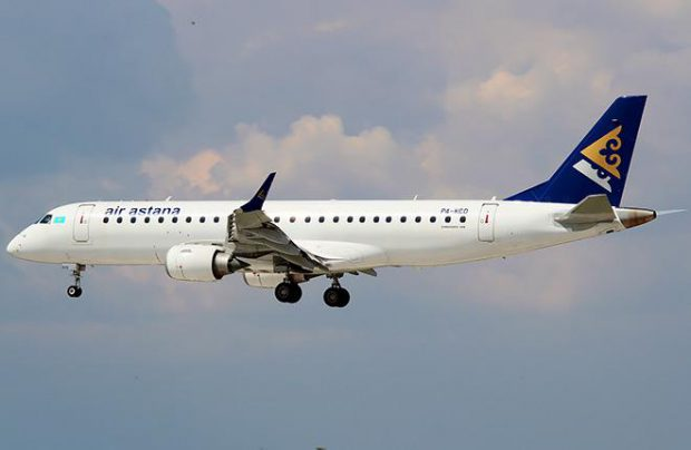 Three Air Astana E190s have undergone maintenance in Portugal so far this year
