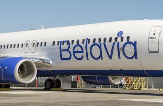 New Boeing 737-800s were the first to get Belavia's revamped livery