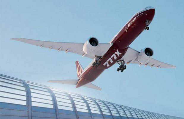 Boeing 777X is one of the programs to benefit from Ural Boeing Manufacturing (Image by Boeing)