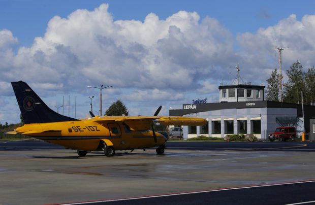 Liepaja Airport is scheduled to resume business in the spring of 2017.