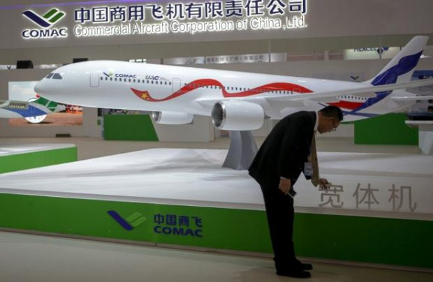 The mock-up of the Russian-Chinese aircraft was for the first time demonstrated at Airshow China 2016 (Photo by transport-photo.com)